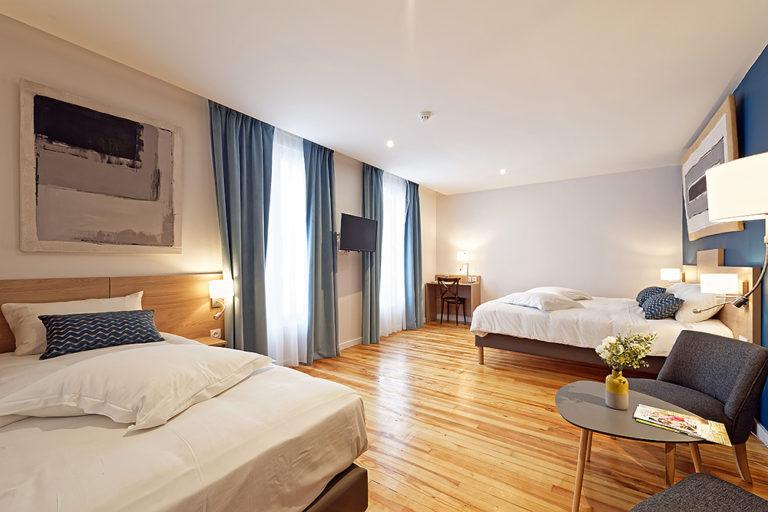 Hotel De La Gare - Chambre 3