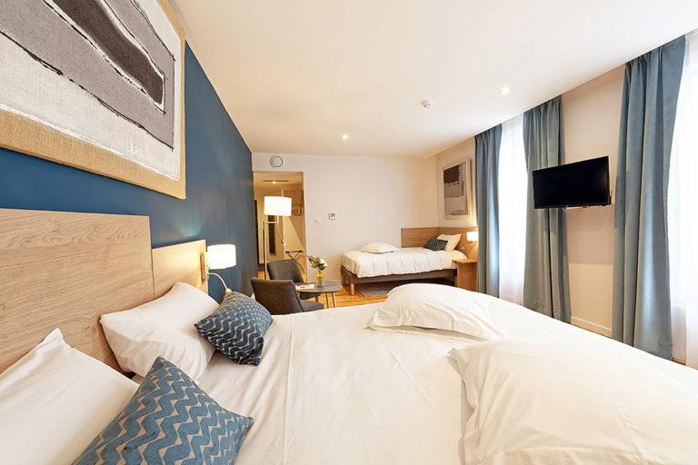 Hotel De La Gare - Chambre 2