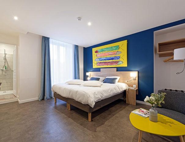 Hotel De La Gare - Chambre 1