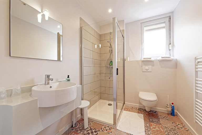 Hotel De La Gare - Salle de bain